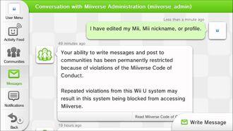 Miiverse permanently ban
