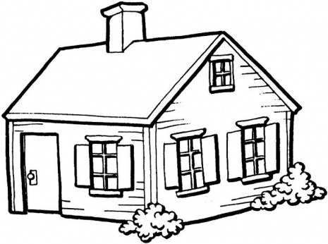 House Coloring Pages 9