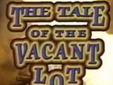 The Tale of the Vacant Lot