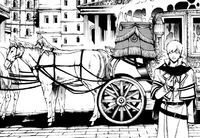 White Knight carriage