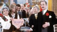 Cast of Are You Being Served BBC 1970s