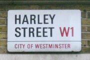HarleyStreetSign