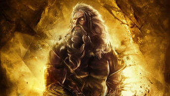 God of war ascension zeus wallpaper by xkirbz-d5qpqyk