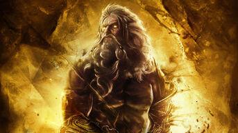 God of war ascension zeus wallpaper by xkirbz-d5qpqyk