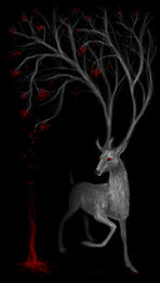 Tree stag by opaca-d4lgt2q