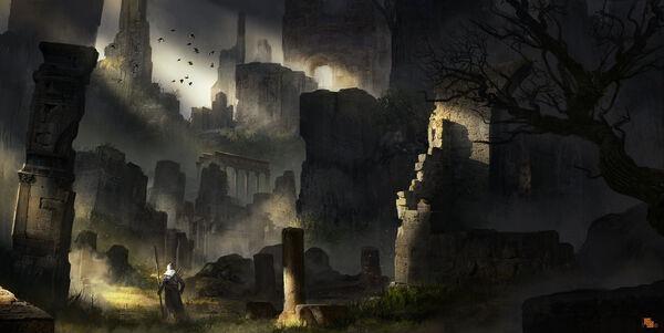 Ruins by llamllam-d808f7d