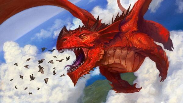 Dragon-fantasy-art-red-eat-wallpaper