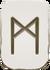 Rune 1 mannaz