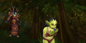 Tysias and Aegis in Woods