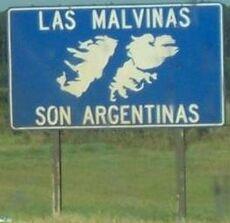 Malvinas-cartel
