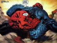 Hulk Vermelho VS Robô