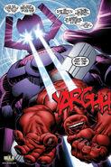 Hulk Vermelho VS Galactus