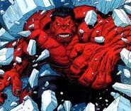 Hulk Vermelho Quebrando o Gelo