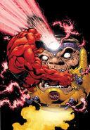 Hulk Vermelho VS MODOK