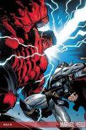 Hulk Vermelho VS Thor