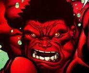 Hulk Vermelho Rosnando