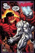 Hulk Vermelho Vs Homem de Prata