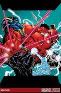 Hulk Vermelho VS Protetores