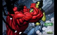 Hulk Vermelho VS Mulher-Hulk