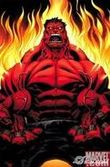 Hulk Vermelho Pegando Fogo