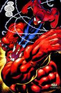 Hulk Vermelho VS Lorde Teia