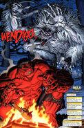 Hulk Vermelho VS Monstro das Neves