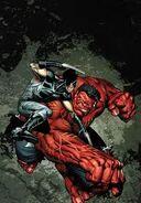 Hulk Vermelho VS Wolverine
