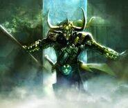 Loki Combatendo