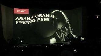 Thank u, next (interlude) - Ariana Grande Sweetener World Tour Las Vegas 5 11 19