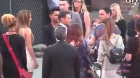 Ariana Grande & Jai Brooks Kiss After iHeartRadio Awards