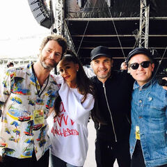 Ariana and Take That