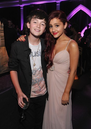 Is greyson chance dating ariana grande