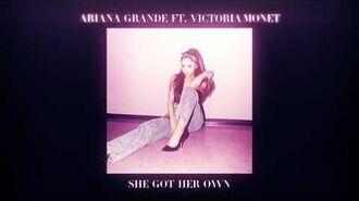 She Got Her Own (Studio Version) - Ariana Grande ft. Victoria Monét-0