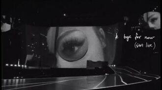 Ariana Grande - everytime (swt live)