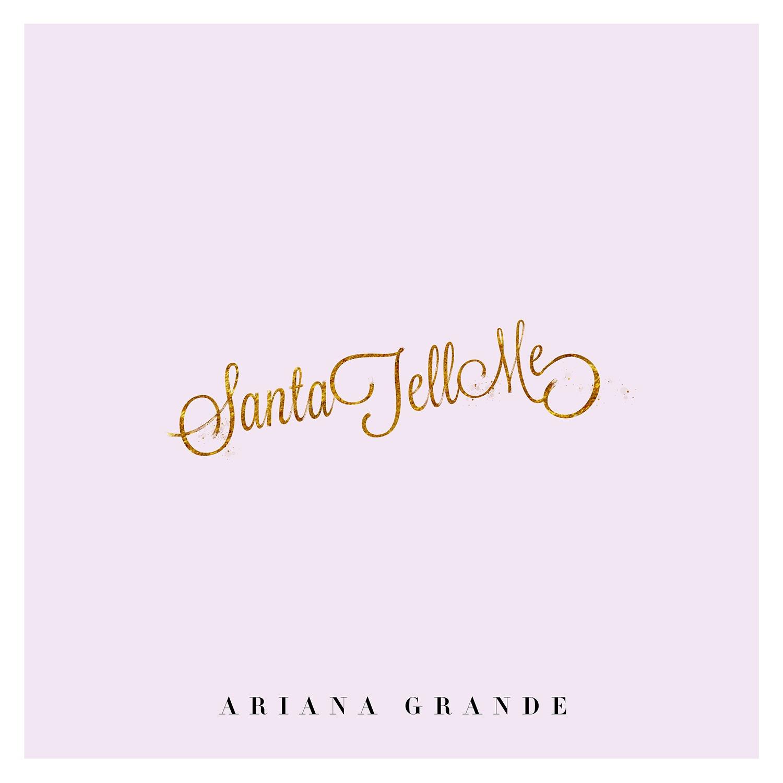 Image result for santa tell me ariana grande album art