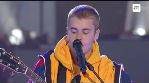 Justin Bieber - Love Yourself (Live - OneLoveManchester) HD