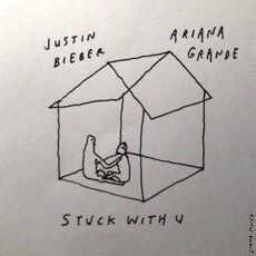 Stuck With U Single Cover