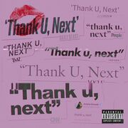 Thank U Next Alt Cover