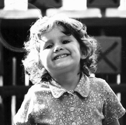 Little ariana smiling