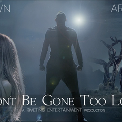 Promotional poster for the music video