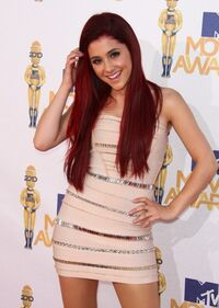 Ari at the MTV movie awards 2010