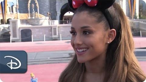Ariana Grande Celebrates Her 21st Birthday at Walt Disney World