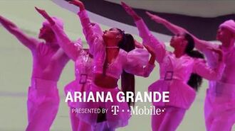 """Ariana Grande - """"Be Alright"""" Sweetener Tour 2019 at the BBMAs T-Mobile"""