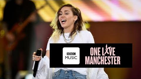 Miley Cyrus - Inspired (One Love Manchester)