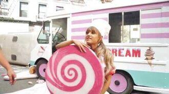 Ariana Grande - Sweet Like Candy BTS