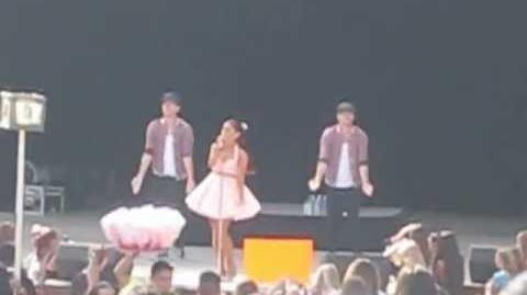 "Ariana Grande at Fresno Fair - ""Girls Just Wanna Have Fun"" & ""Honeymoon Avenue""10 13 12"