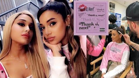 I was in the thank you, next music video! wtffff