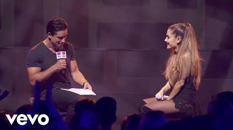 Ariana Grande - Take Risks (Q&A on the Honda Stage at iHeartRadio Theater LA)