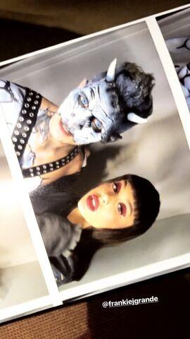 File:Ariana as Katinka and Frankie for Halloween (1).jpg