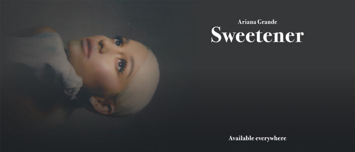 Sweetener Available everywhere